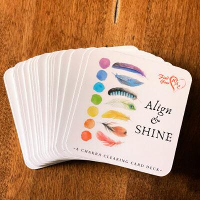 ALIGN & SHINE Intention Card Deck
